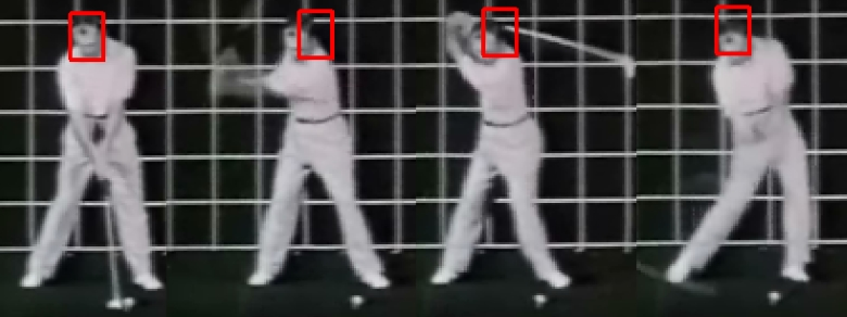 Ben Hogan Head Movement